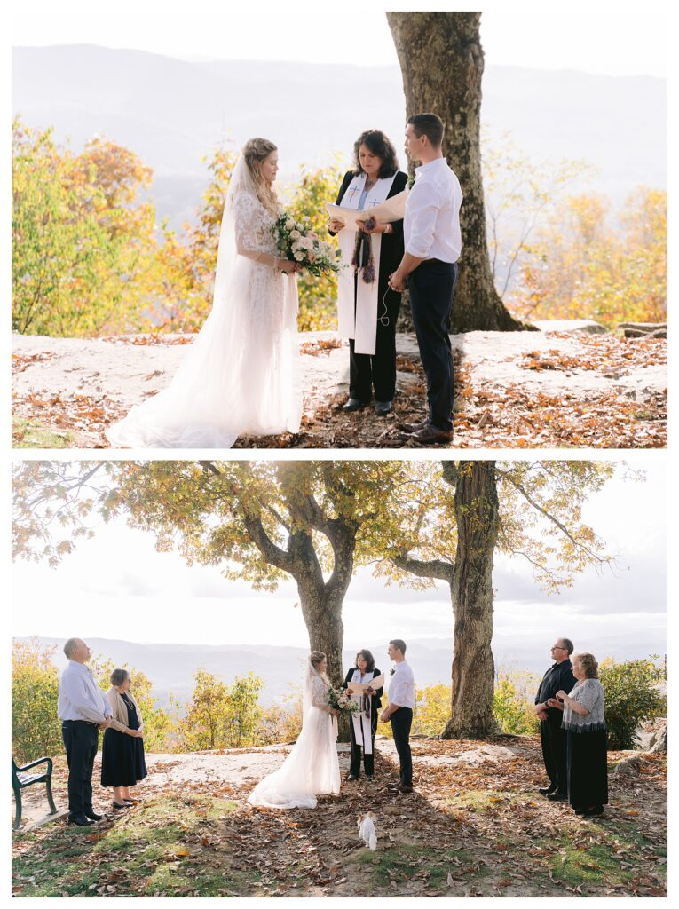 fall elopement by Legacy and Legend