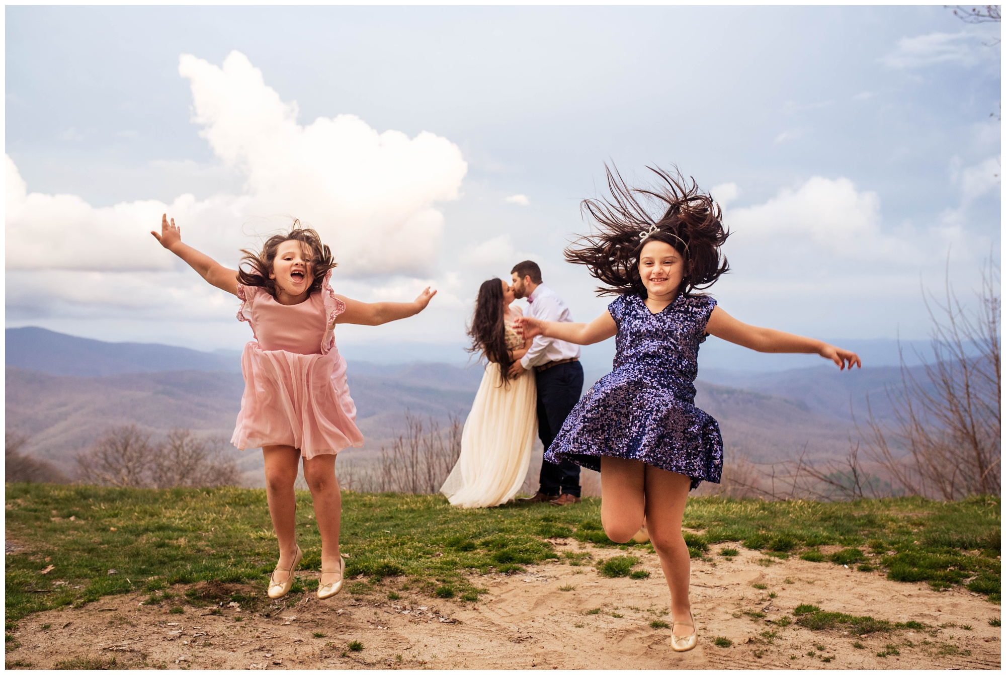 Family Adventure Photos in the Blue Ridge Mountains | Legacy and Legend