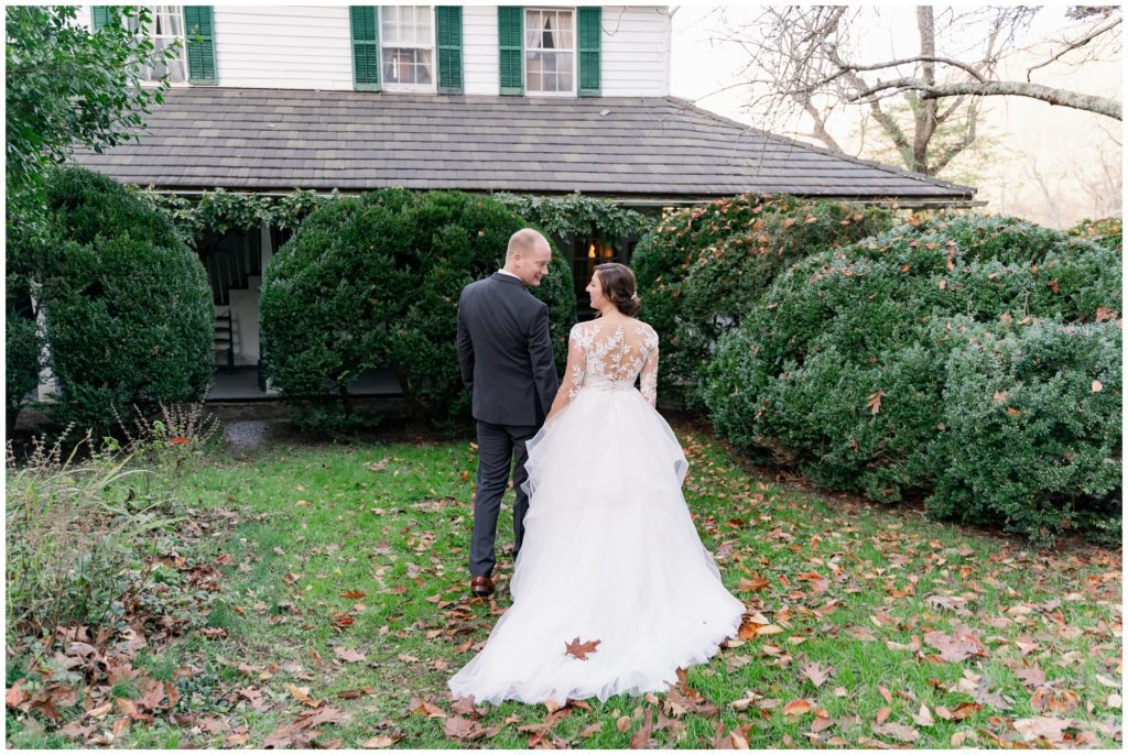 All-Inclusive elopement planned at Sherrill's Inn outside of Asheville, NC.