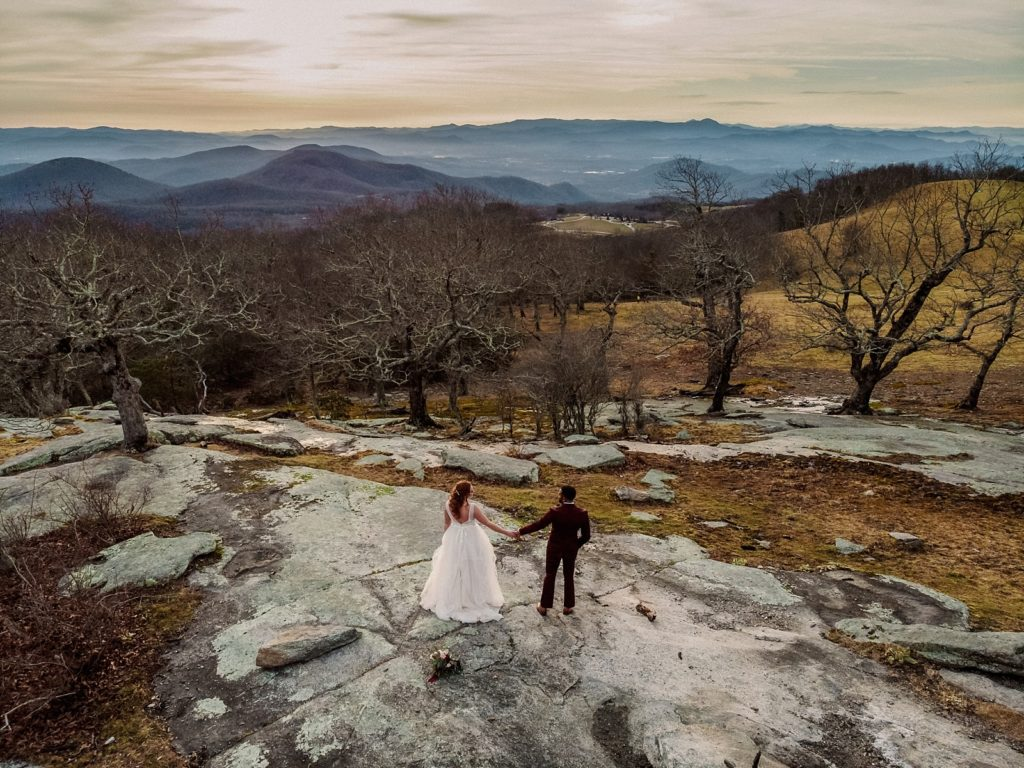 How to Elope in the Winter - Asheville All Inclusive Elopements - Legacy and Legend
